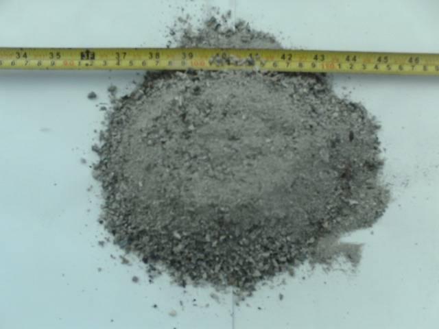 palm bunch ash