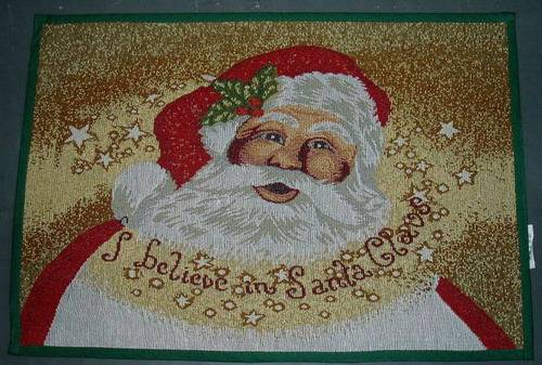jacquard christmas door mat, floor mat