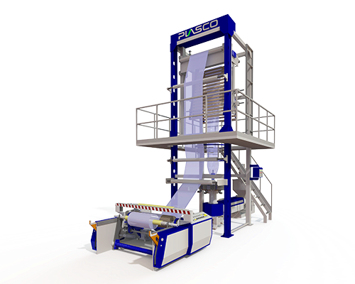 JC-HS70 High Capacity Extrusion Line