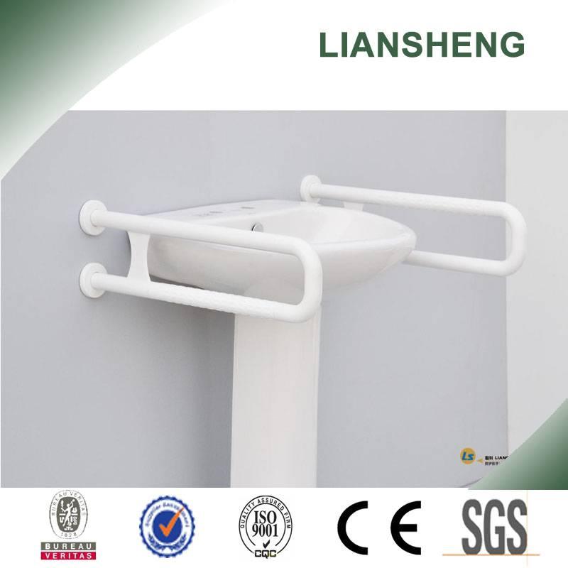 Stainless steel toilet U shape grab bar