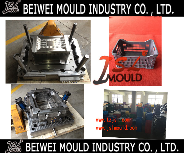 Premium Customized Plastic Fruit Crate Mould