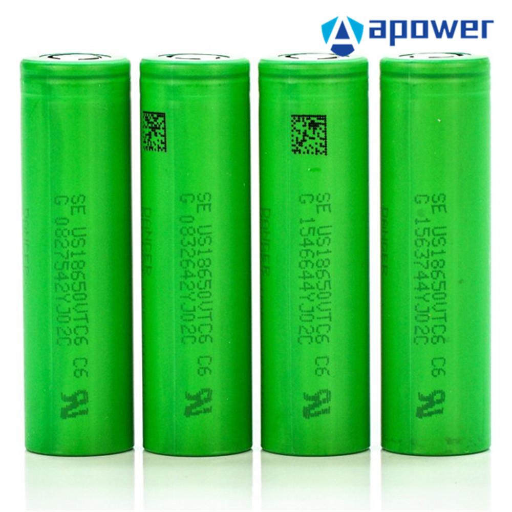Original Vtc6 18650 Battery 3000mAh 30A 18650 Lithium Battery