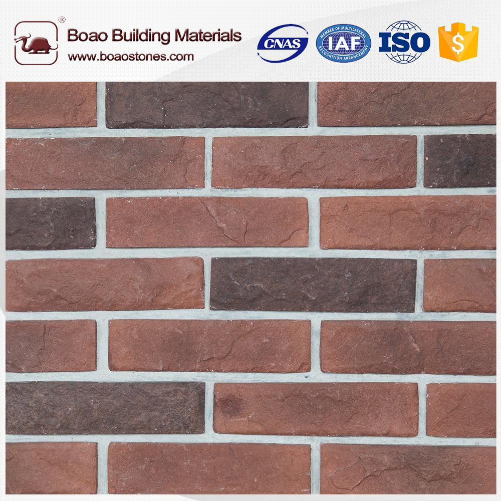 antique brick veneer and panel