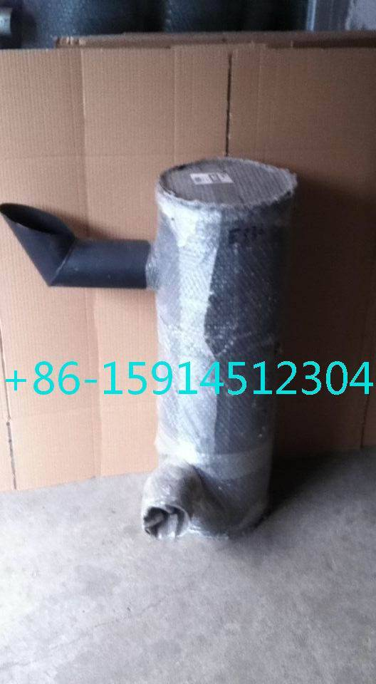 6Y2755 Caterpillar E330 muffler with tube for excavator