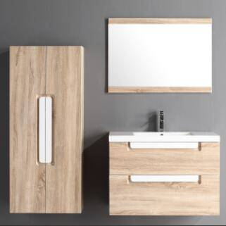 Goldea Bathroom Cabinet SYRINX YBC 138-080