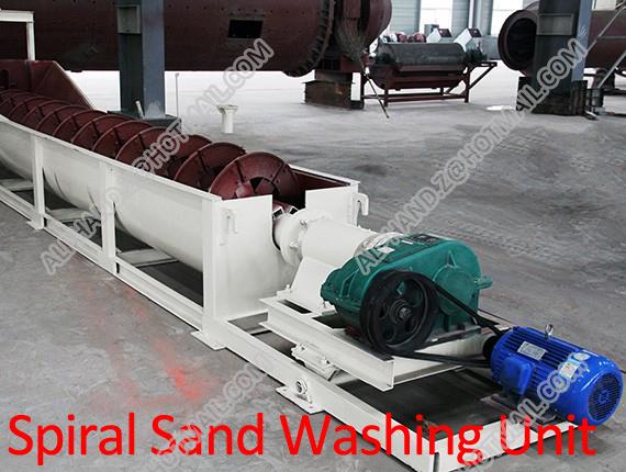 Spiral Sand Washing Machine