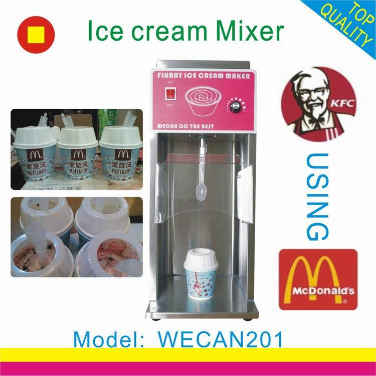 wholesale ice cream maker machine/CE approved soft ice cream maker with factory price /mc flurry ice