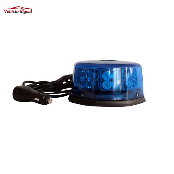 32w High Quality Rotating Amber Led Beacon Light Emergency Strobe Blue Led Car roof Beacon Lighting