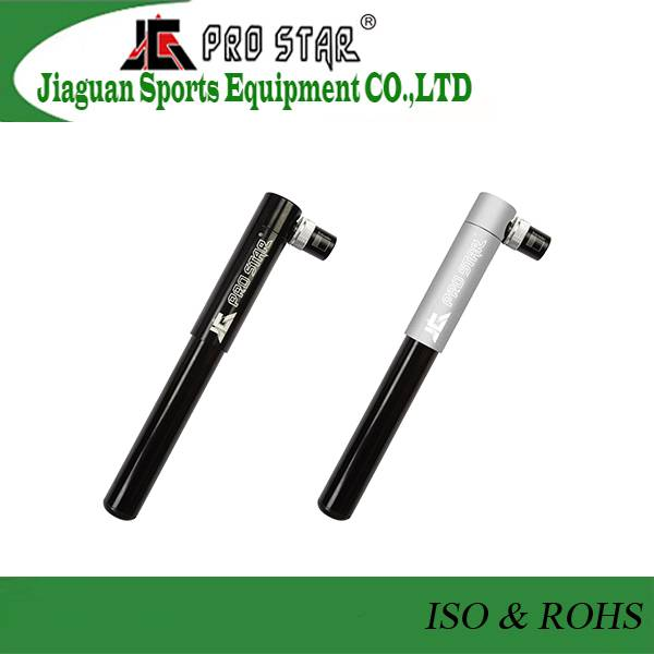 Hot-sale Aluminum 6063 Mini Two-stage bicycle Pump with high pressure