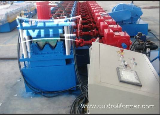 Highway Gudrail Roll Forming Machine