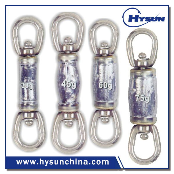 Leaded Swivel for commercial fishing
