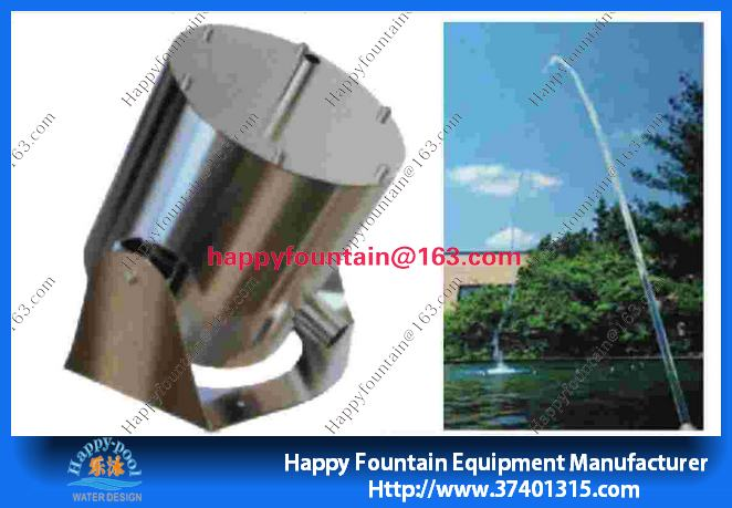 Colorful Music Water Fountain Bright Jumping Fountain Nozzle