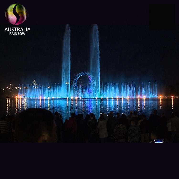 Kazakhstan O Laser Water Fountain Show for The Birthday of President