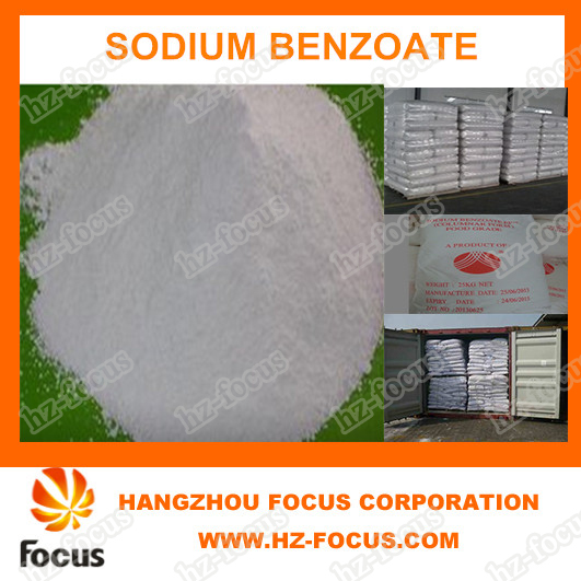 High Quality of Food Preservative Sodium Benzoate