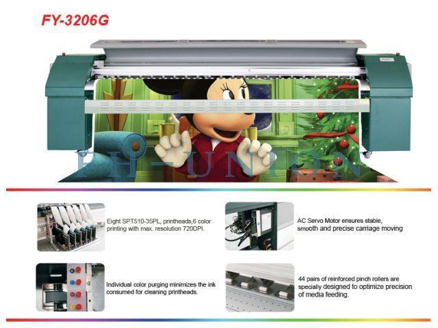 FY-3206G Large Format Solvent Printer
