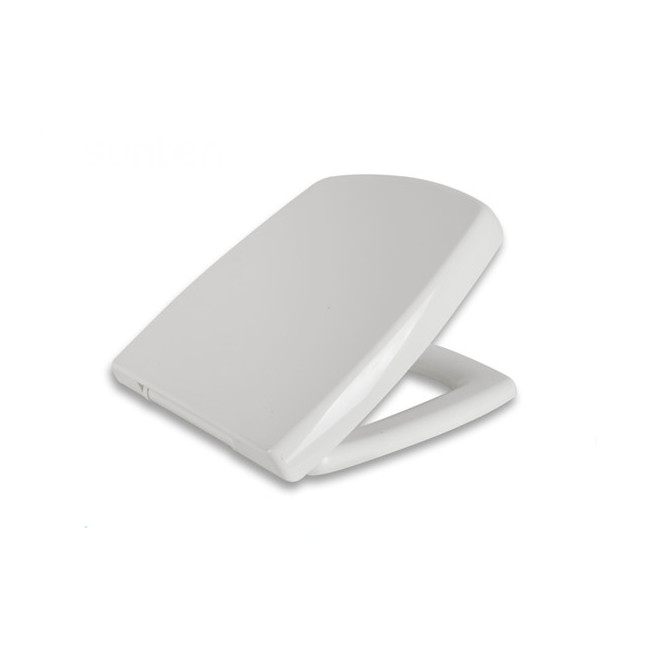 Special Shape Closed Front UF Soft Close Toilet Seat Supplier