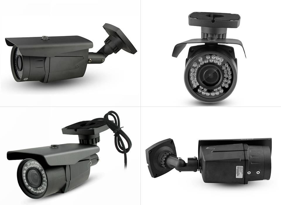 IP 1.3M 960P Camera 36pcs leds light night vision  metal bullet security camera