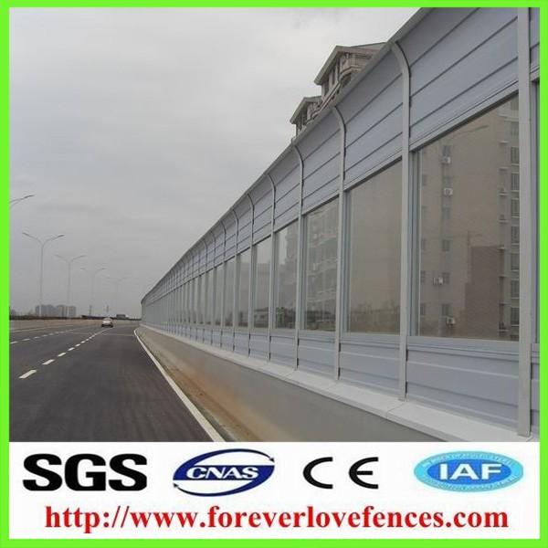 highway noise /sound barrier system