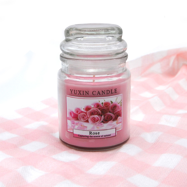 Scented Jar Candles With Various Color For sale