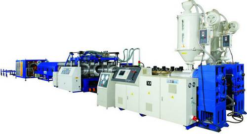 PVC pipe extrusion machine