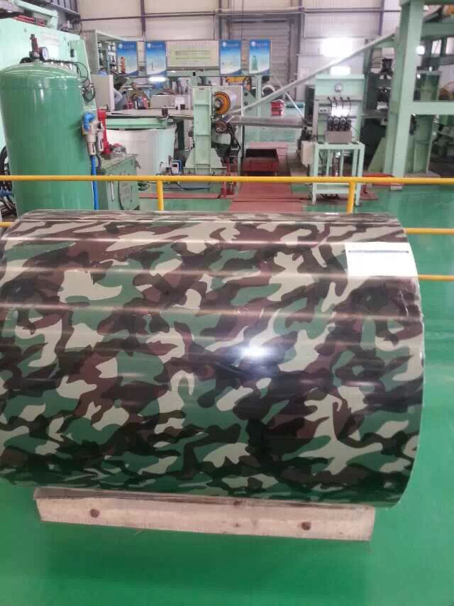 PPGI/prepainted galvanized steel coil with tree color