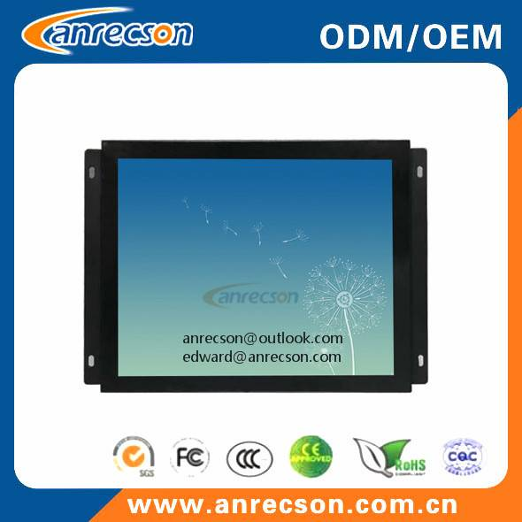"10.4"" industrial fanless PC all in one with capacitive touchscreen"