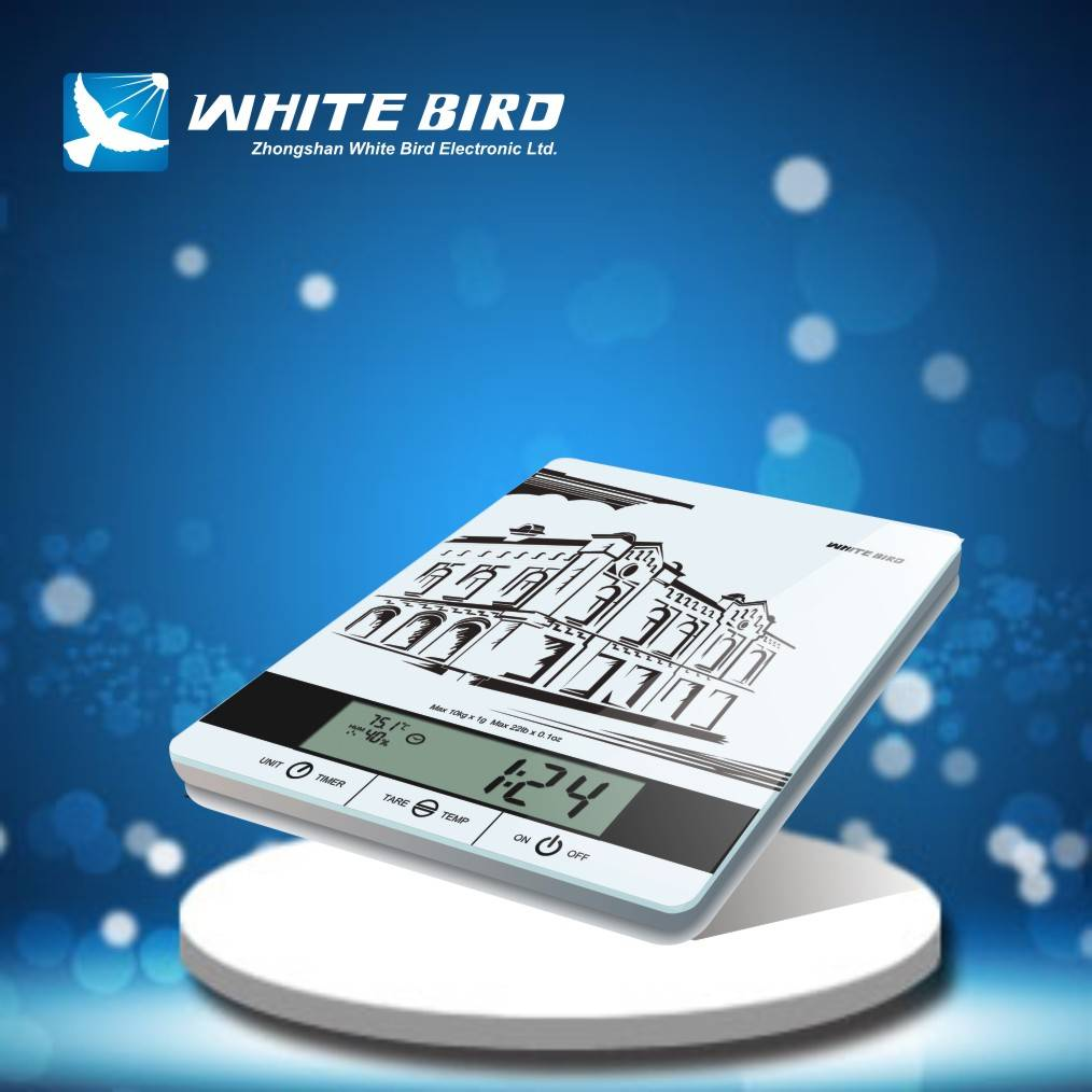 time timer temperature kitchen scale KG-1005