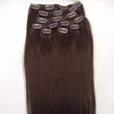 clip in on hair extensions synthetic hair 5pcs 7pcs 1set