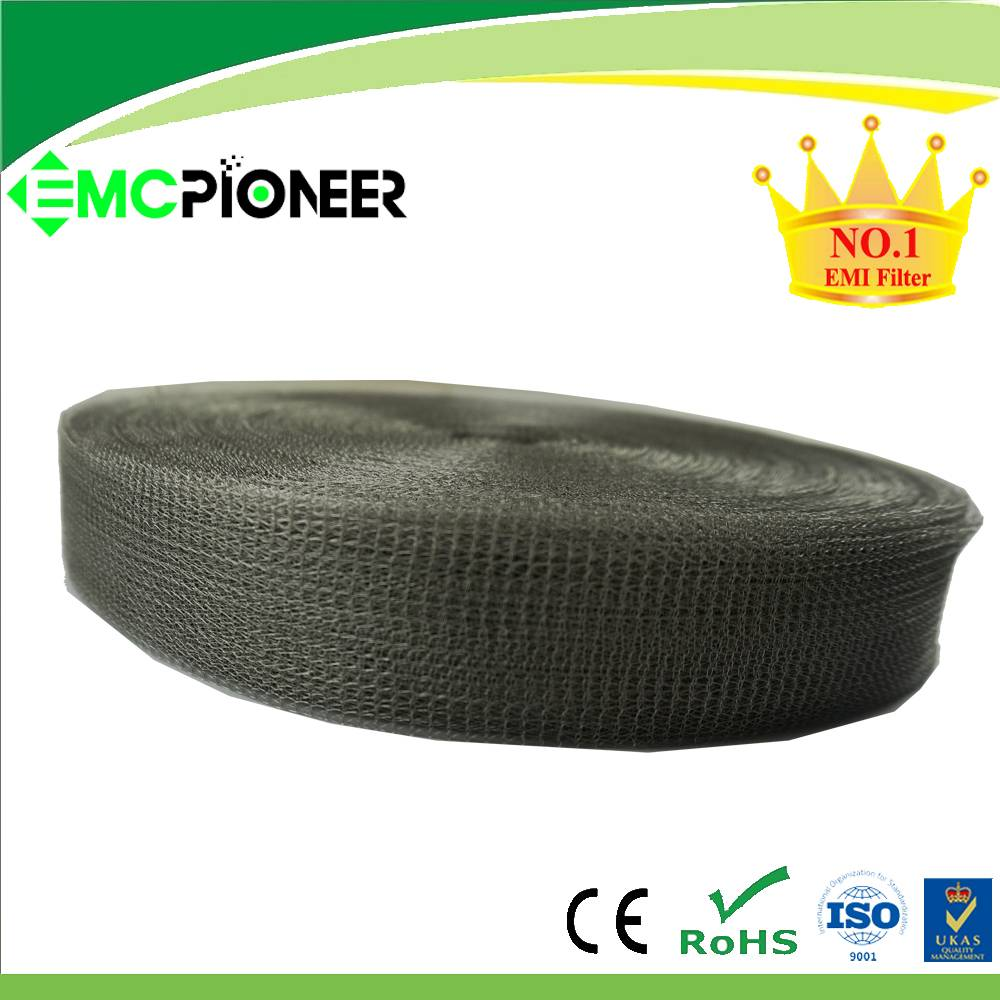 magnetic shielding knitted wire mesh tapes