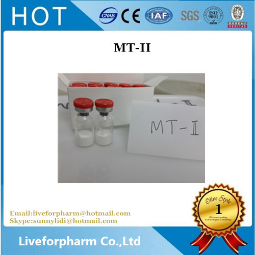 Buy High Purity Peptide Lyophilized Powder Melanotan-II MT-2 CAS 121062-08-6