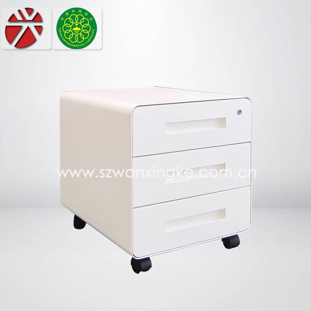 under desk mobile small office metal cabinet