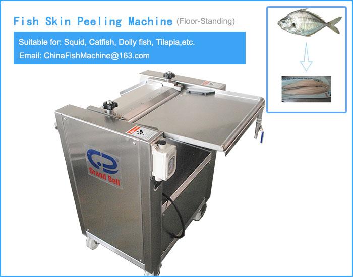 Fish Skin Peeling Machine China Manufacturer