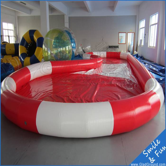 Swimming pool of 10*8m for paddle boats and swimming