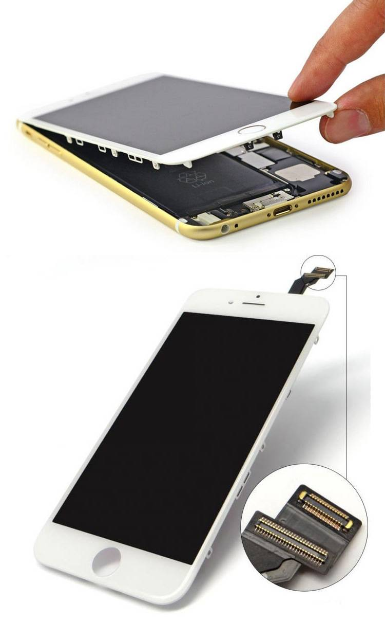 factory price replacement LCD screen for iPhone 6 plus