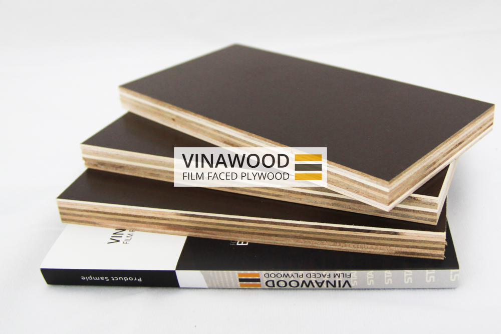 Melamine Glue Film Faced Plywood Vietnam