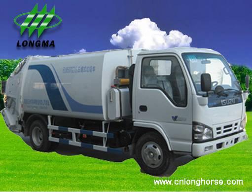 Rear Loader Garbage Truck