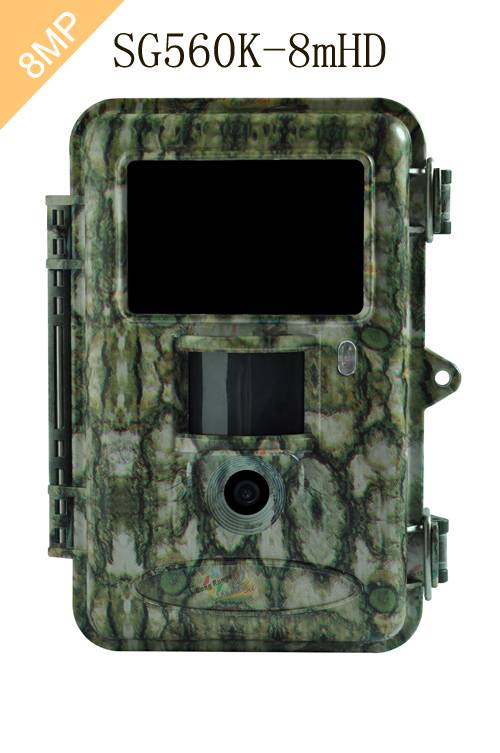 Extra Long Range Hunting Scouting Trail Game Wildlife Camera with 8MP Image and 720P HD Videos