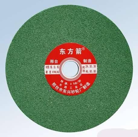 Harmless green cutting wheel