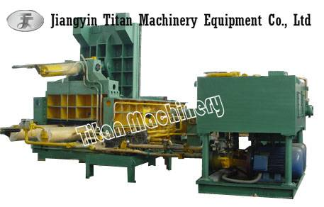 waste car baler baling machine
