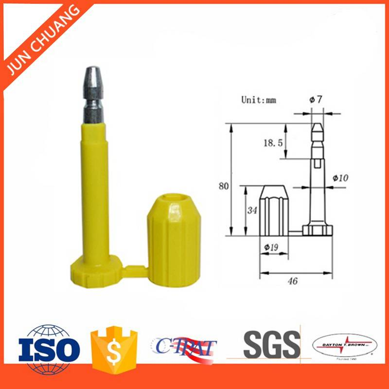 Container bolt seal high security bolt seals