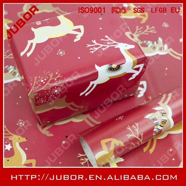 Oem Christmas Gift Wrapping Paper
