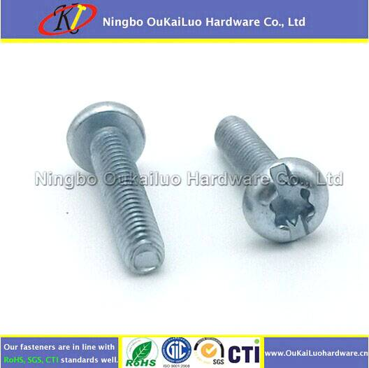 Slotted Torx Pan Head Trilobular Thread Forming Screws