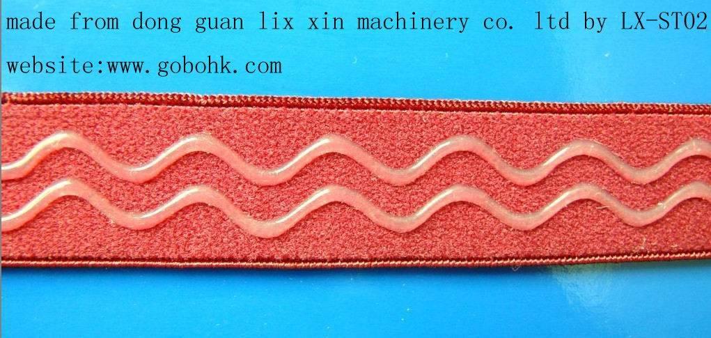 silicone Narrow Fabrics coating machine