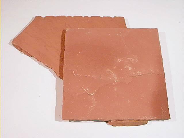 Indian red sandstone