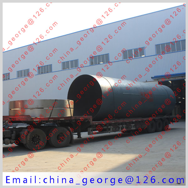 Large capacity hot sale Calcined Dolomite rotary kiln sold to Kostanay