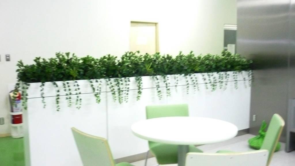 Planter boxes manapat interior landscape designs for Cubicle planter box