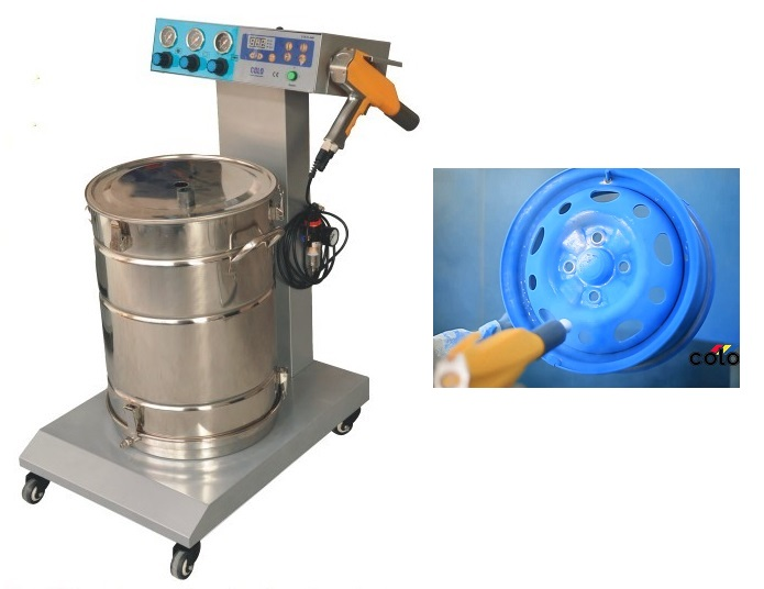 Manual Electrostatic Powder Painting Equipment for Metal