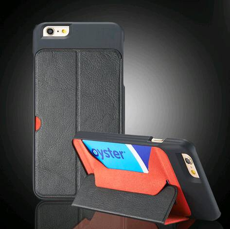 Card slots Matte Stand Case