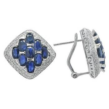 elegant lapis stud earrings