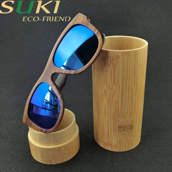 Bamboo polarized sunglasses frame factory price